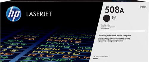 HP 508A Toner Cartridge Black Main Image