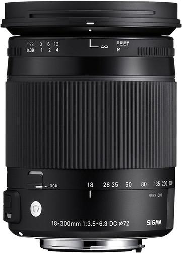 Sigma F 18-300mm f/3.5-6.3 DC Macro OS HSM C Nikon Main Image