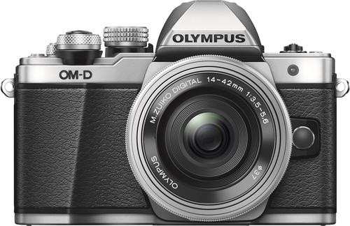 Olympus OM-D E-M10 Mk II Silver + 14-42mm EZ Main Image