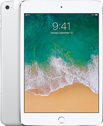 Apple iPad Mini 4 128 Go Wi-Fi + 4G Argent Main Image