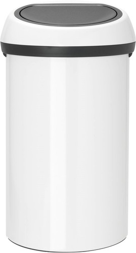 Brabantia Touch Bin 60 Litres Blanc Main Image