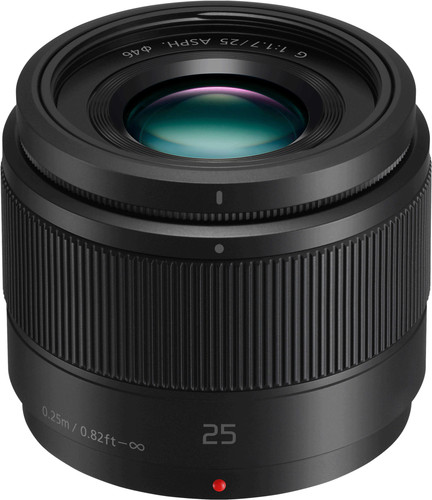 Panasonic Lumix G 25mm f/1.7 ASPH Zwart Main Image