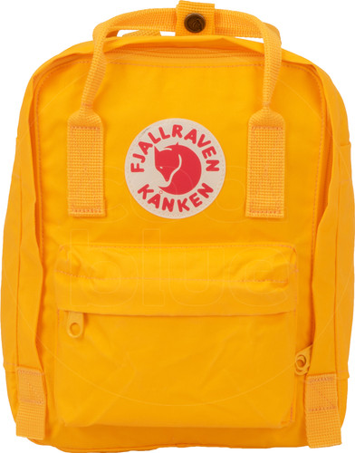Fjällräven Kånken Mini Warm Yellow 7L - Children's backpack Main Image