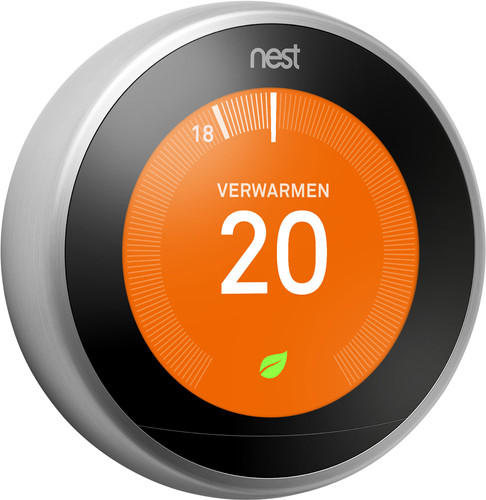 Google Nest Learning Thermostat (3e generatie) Main Image