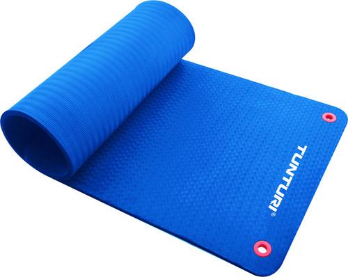 Tunturi Fitnessmat Pro 180 cm Blue Main Image