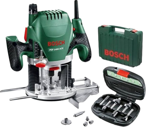 Bosch POF1400ACE + 6-Piece Cutter Set Main Image