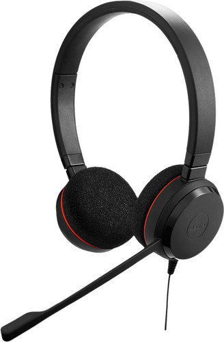 Jabra Evolve 20 UC Stereo Bedrade Office Headset Main Image