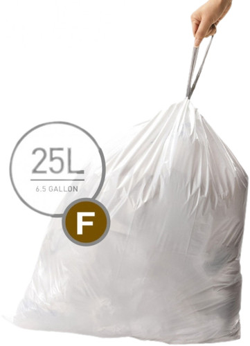 Simplehuman Waste bags Code F - 25 Liter (60 pieces) Main Image