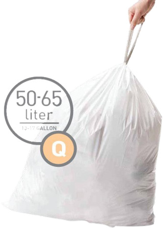 Simplehuman Trash Bags Code Q - 50-65 Liters (60 units) Main Image