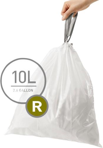 Simplehuman Sacs poubelle Code R - 10 Litres (60 pièces) Main Image