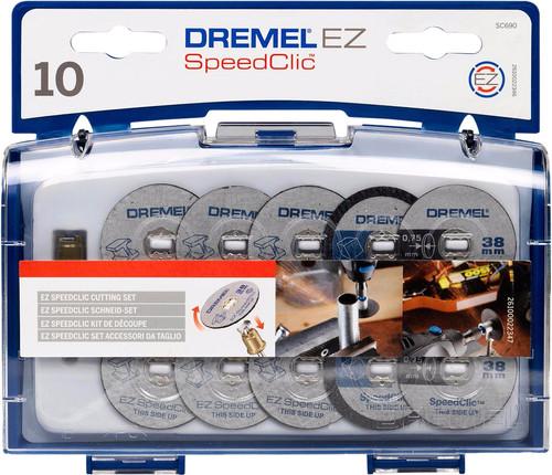Dremel EZ SpeedClic cutting accessory set (SC690) Main Image