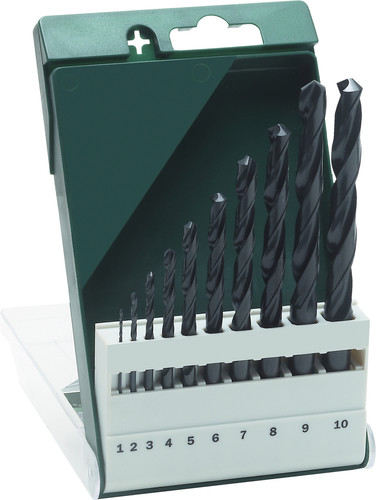 Bosch 10-piece Borenset Metal HSS-R Main Image