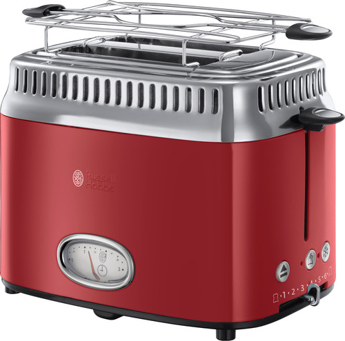 Russell Hobbs Retro Ribbon Rood Broodrooster Main Image