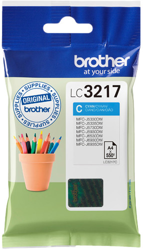 Brother LC-3217C Cartridge Cyan Main Image