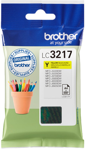 Brother LC-3217 Cartouche Jaune Main Image