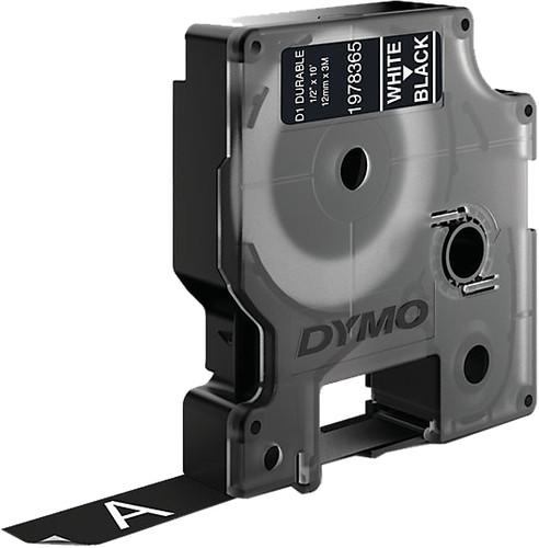 Dymo LW Durable D1 Label White-Black (12 mm x 3 m) Main Image