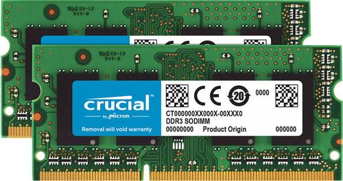 Crucial Standard 16 Go SODIMM DDR3L-1600 2 x 8 Go Main Image