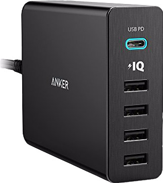 Anchor PowerPort+5 with 5 USB ports and Power Delivery Main Image