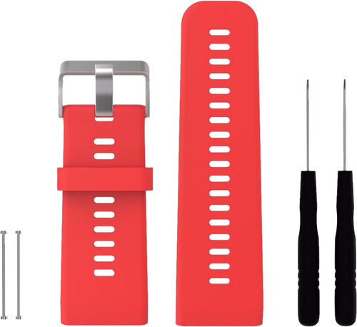 Just in Case Silicone Sportband Garmin Vivoactive HR Red Main Image