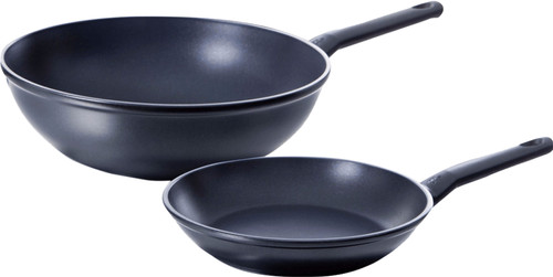BK Easy Induction Frying Pan and Wok 24+30cm Main Image