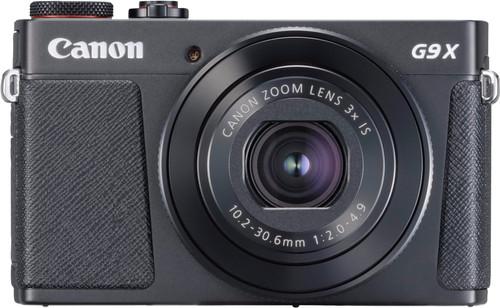 Canon PowerShot G9 X Mark II Zwart Main Image