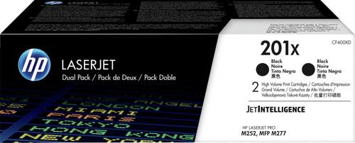 HP 201X Toner Cartridges Black Duo Pack (High Capacity) Main Image