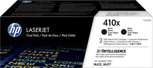 HP 410X Toner Cartridge Black Duo Pack (High Capacity) Main Image