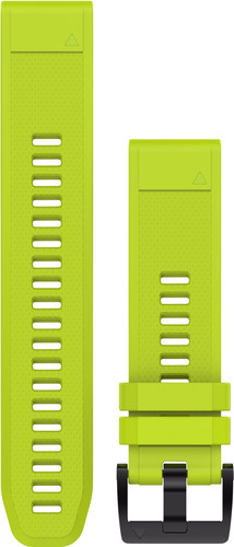 Garmin QuickFit 22mm Silicone Watch Strap Yellow Main Image