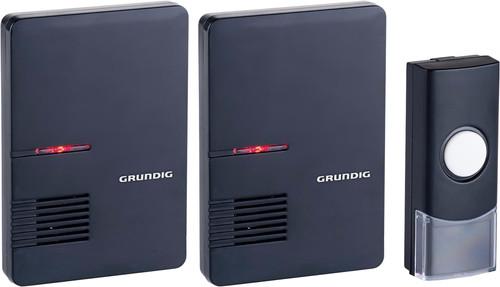 Grundig Sonnette Sans Fil 2 Récepteurs Portables Main Image