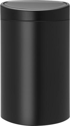 Brabantia Touch Bin 40 Liter Matt Black Main Image