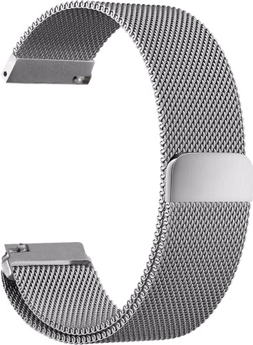Just in Case Milanese Watch Strap Universal 18mm Gray Main Image