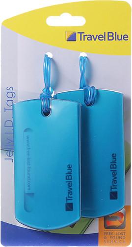 Travel Blue Jelly ID Tag Bleu Main Image