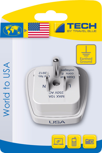 Travel Blue Wereld Adapter - USA Main Image