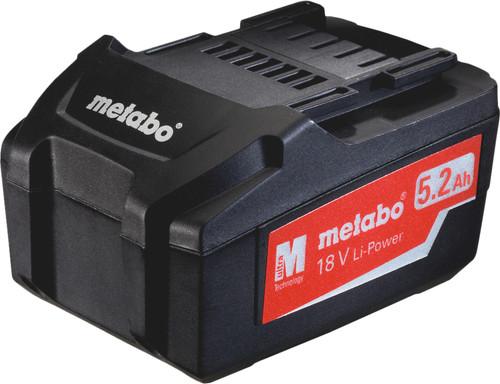 Metabo Accu 18V 5,2 Ah Li-Ion Main Image