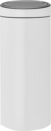 Brabantia Touch Bin 30 Litres Blanc Main Image