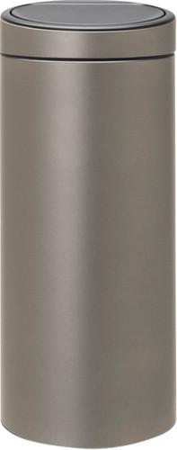 Brabantia Touch Bin 30 Liter Platinum Main Image
