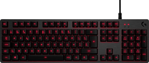 Logitech G413 Mechanical Gaming Keyboard Zwart AZERTY Main Image