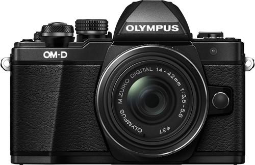 Olympus OM-D E-M10 Mark II Black + 14-42mm IIR Main Image