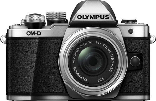 Olympus OM-D E-M10 Mark II Silver + 14-42mm IIR Main Image