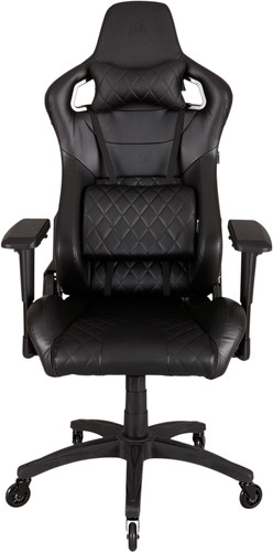 Corsair T1 Race Gaming Chair Zwart Main Image
