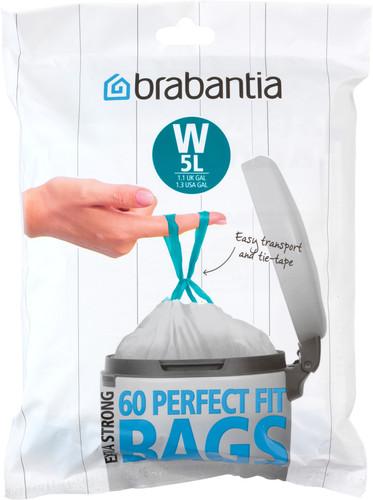 Brabantia Garbage bags Code W - 5 Liter (60 pieces) Main Image