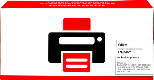 Pixeljet TN-245 Jaune pour imprimantes Brother Main Image