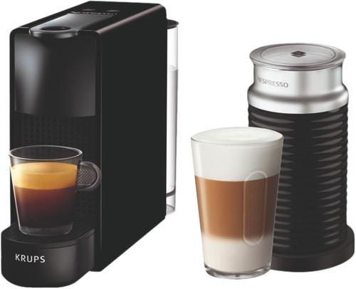 Krups Nespresso Essenza Mini XN1118 Noir + Mousseur de lait Main Image