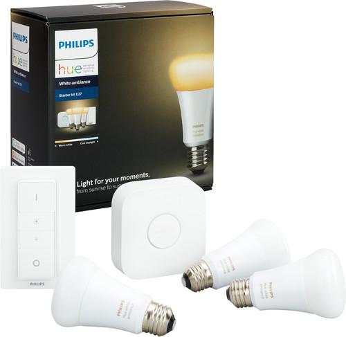 Philips Hue White Ambiance Starter Pack avec Variateur Main Image