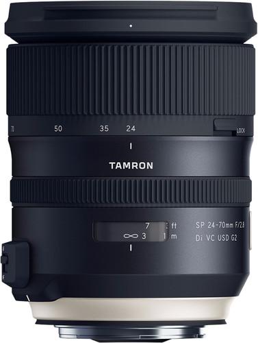 Tamron SP 24-70mm f/2.8 Di VC USD G2 Canon EF Main Image