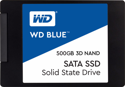 WD Blue 3D NAND 500GB 2,5 inch Main Image
