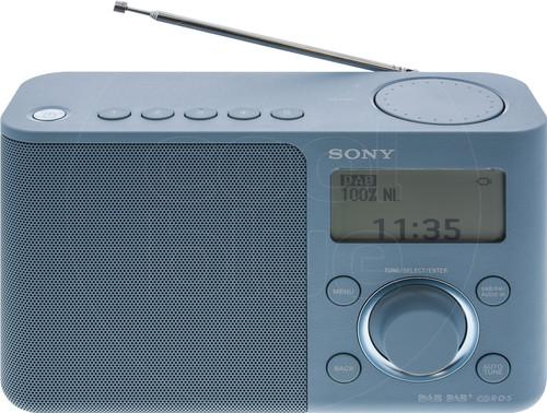 Sony XDR-S61D Blauw Main Image