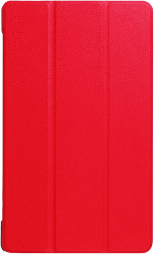 Just in Case Coque Lenovo Tab 4 8 Plus Smart Tri-Fold Rouge Main Image