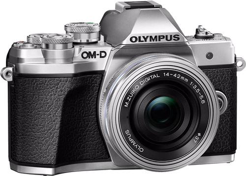 Olympus OM-D E-M10 Mark III Body Silver + 14-42mm Main Image