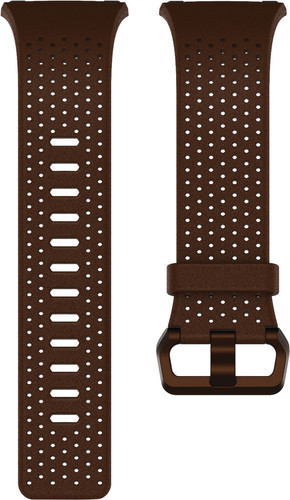 Fitbit Ionic Leather Watchband Brown S Main Image